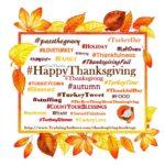 60+ thanksgiving hashtags – training authors for achievement