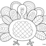 A poultry for thanksgiving coloring pages – conquer.biz