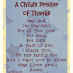 Children's prayer of thanks & 12 little benefits book giveaway – rachelwojo.com