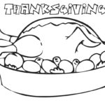 Free printable thanksgiving coloring pages for children having a poultry – ijigen.me