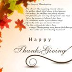 Happy thanksgiving poems & prayer collection