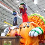 Holiday balloons: images from macy's thanksgiving day parade