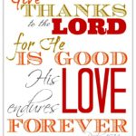 Hopes and scriptures for thanksgiving day