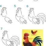 Poultry thanksgiving directed drawing
