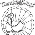 Printable happy thanksgiving poultry coloring page for children in thanksgiving coloring pages for fifth graders – attorney-dwi.info