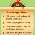 Thanksgiving games fun for children & adults