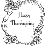 Thanksgiving poultry coloring pages