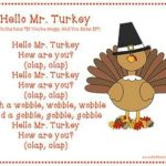 Thanksgiving songs, poems & fingerplays for children