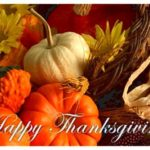 Thanksgiving verses, card messages and poems