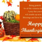 Thanksgiving wishes ~ greetings, messages