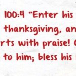 Top 7 bible on thankfulness