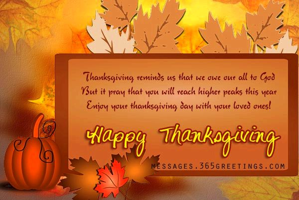 Happy thanksgiving wishes appreciate loving