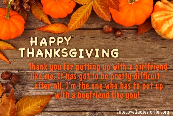 thanksgiving love quotes for her