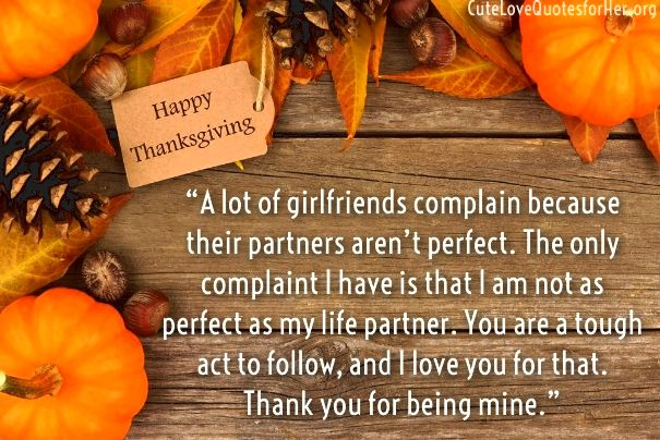 thanksgiving love quotes for girlfriend wife