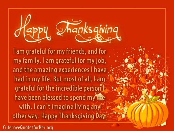 Thanksgiving love quotes on her thanks sayings happythanksgiving thankful quotes thanksgiving day love m4hsunfo