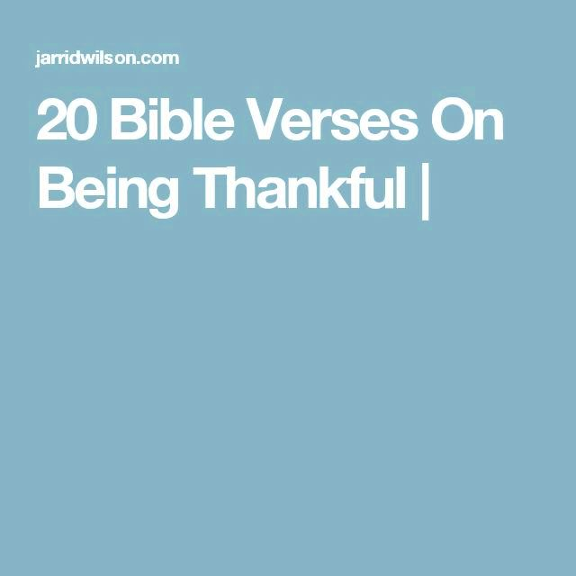 20 bible on being grateful steadfast love endures