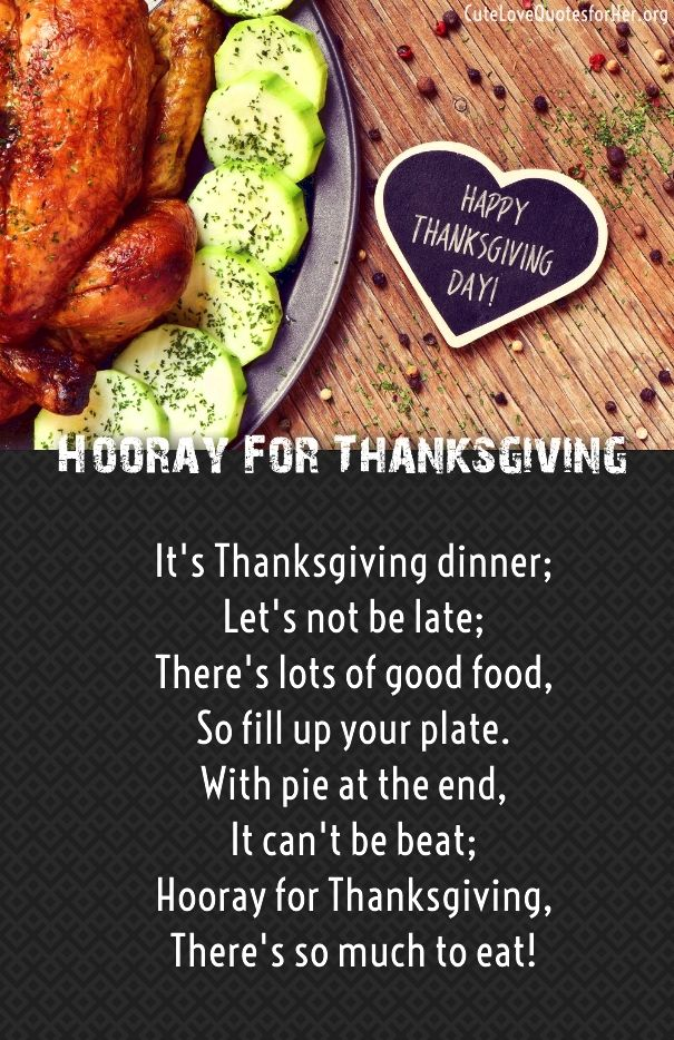 thanksgiving verses for cards poems