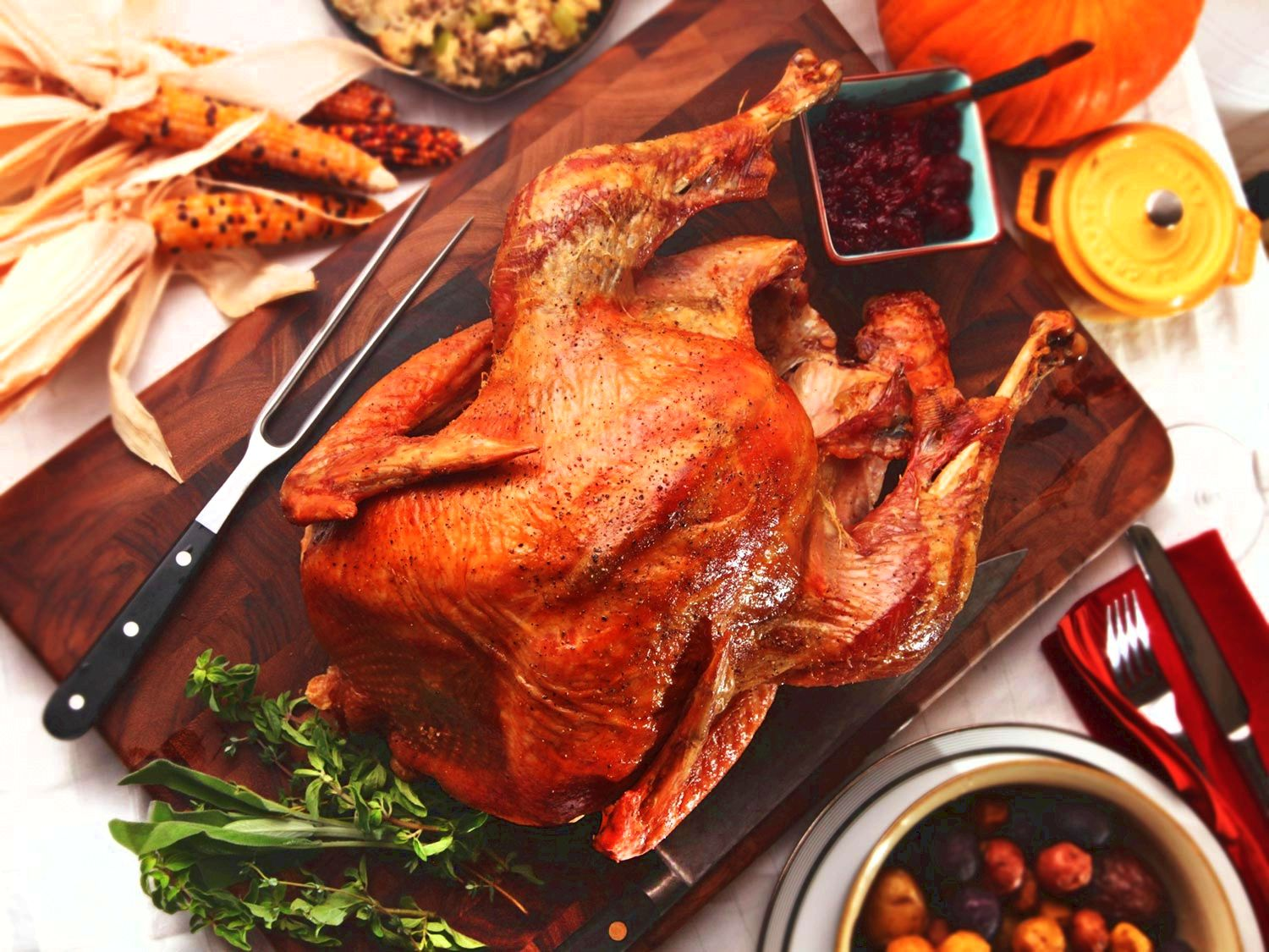Bye bye, bland bird: 13 recipes for crispy, juicy thanksgiving poultry And look for our guides