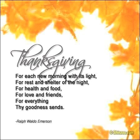 A thanksgiving prayer - be inspired! capability to