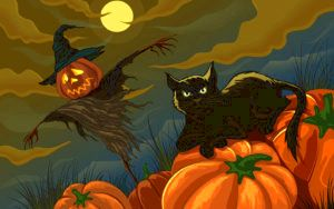 Halloween Pictures Wallpaper Widescreen