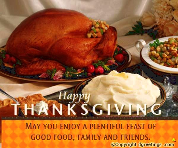 Thanksgiving Day wishes, Thanksgiving day history