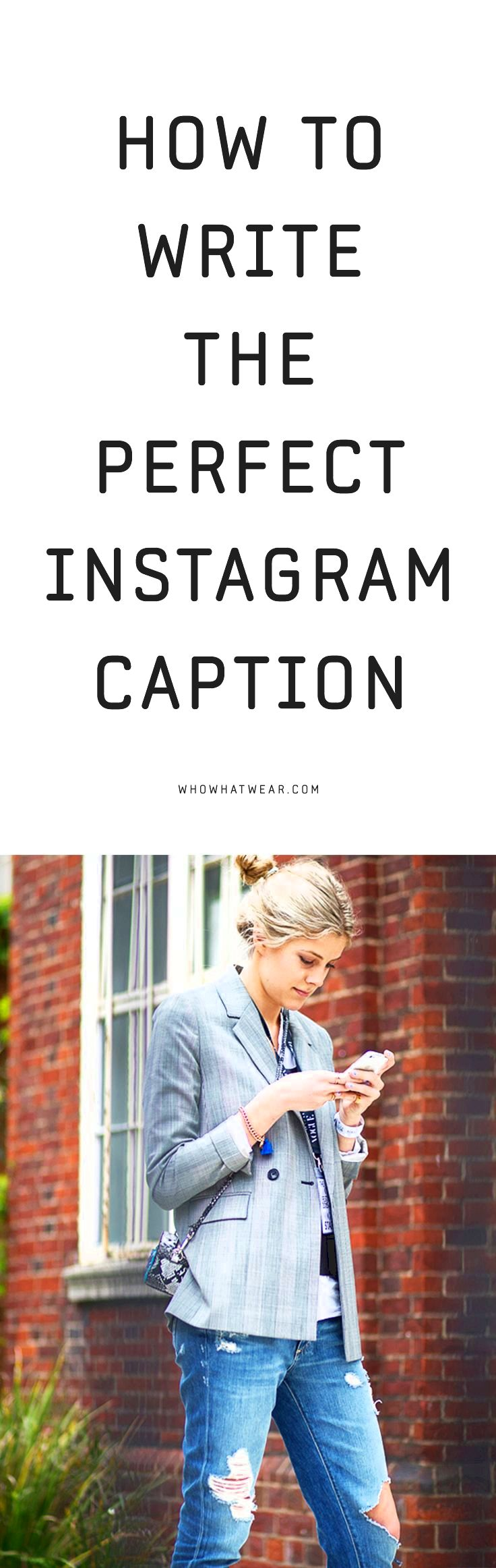 Four steps to writing the right instagram caption be relevant           Use alliteration