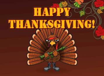 Happy thanksgiving message from mountain operations sunshine and rain we experienced