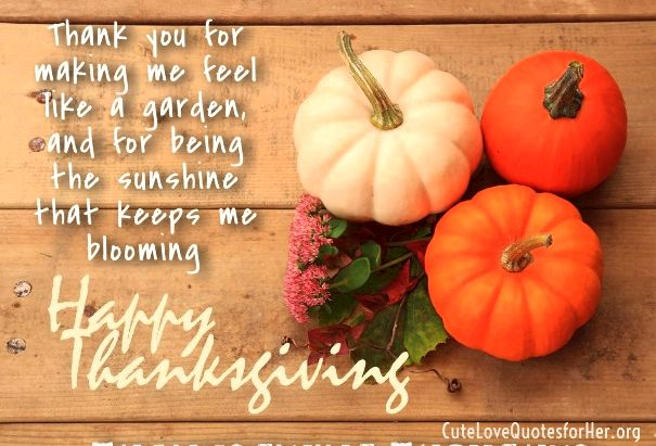 thanksgiving love quotes for him