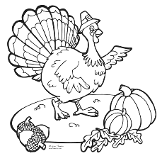 Thanksgiving Turkey Coloring Pictures