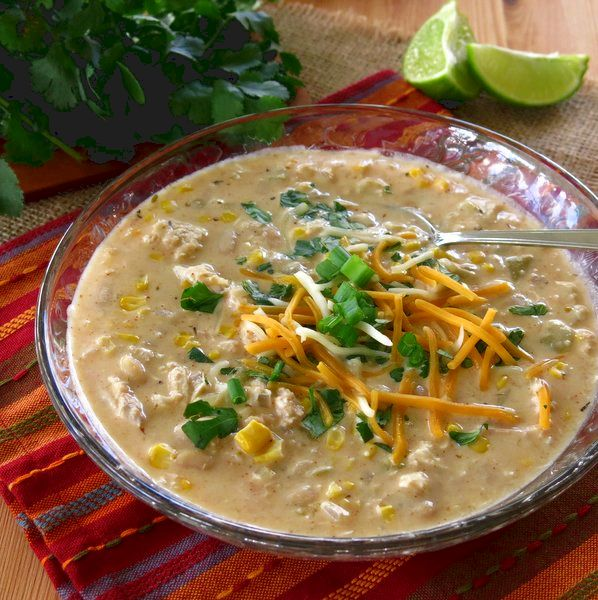 Ideas for Turkey Leftovers - Use turkey in this white bean chili!