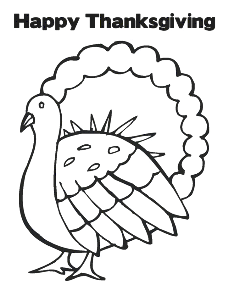 Free Thanksgiving Turkey Coloring Printables