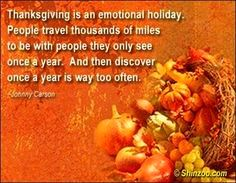 Thanksgiving quotes to see relatives would seal it