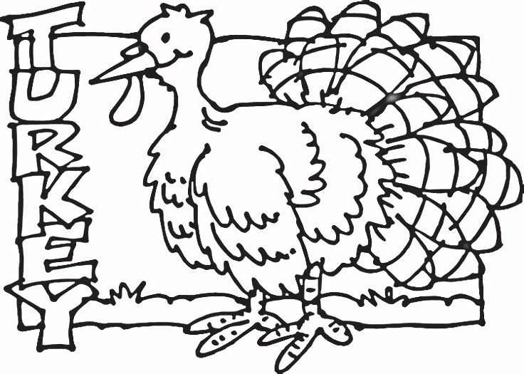 Top Ten free printable thanksgiving poultry coloring pages online This picture is ideal