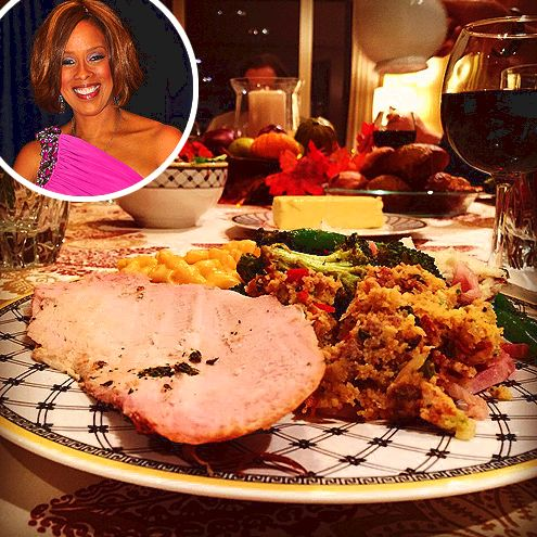 Thanksgiving 2014: what stars ate on instagram TweetEmail        EmailPinterest        Pin It