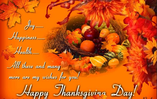 Free Customised Happy Thanksgiving eCards, Greeting Cards Images Wallpapers