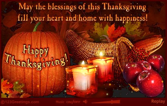 Wishing You Very Happy Thanksgiving my Friends!