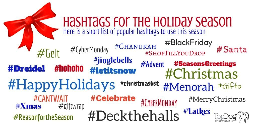 hashtags for the holidays