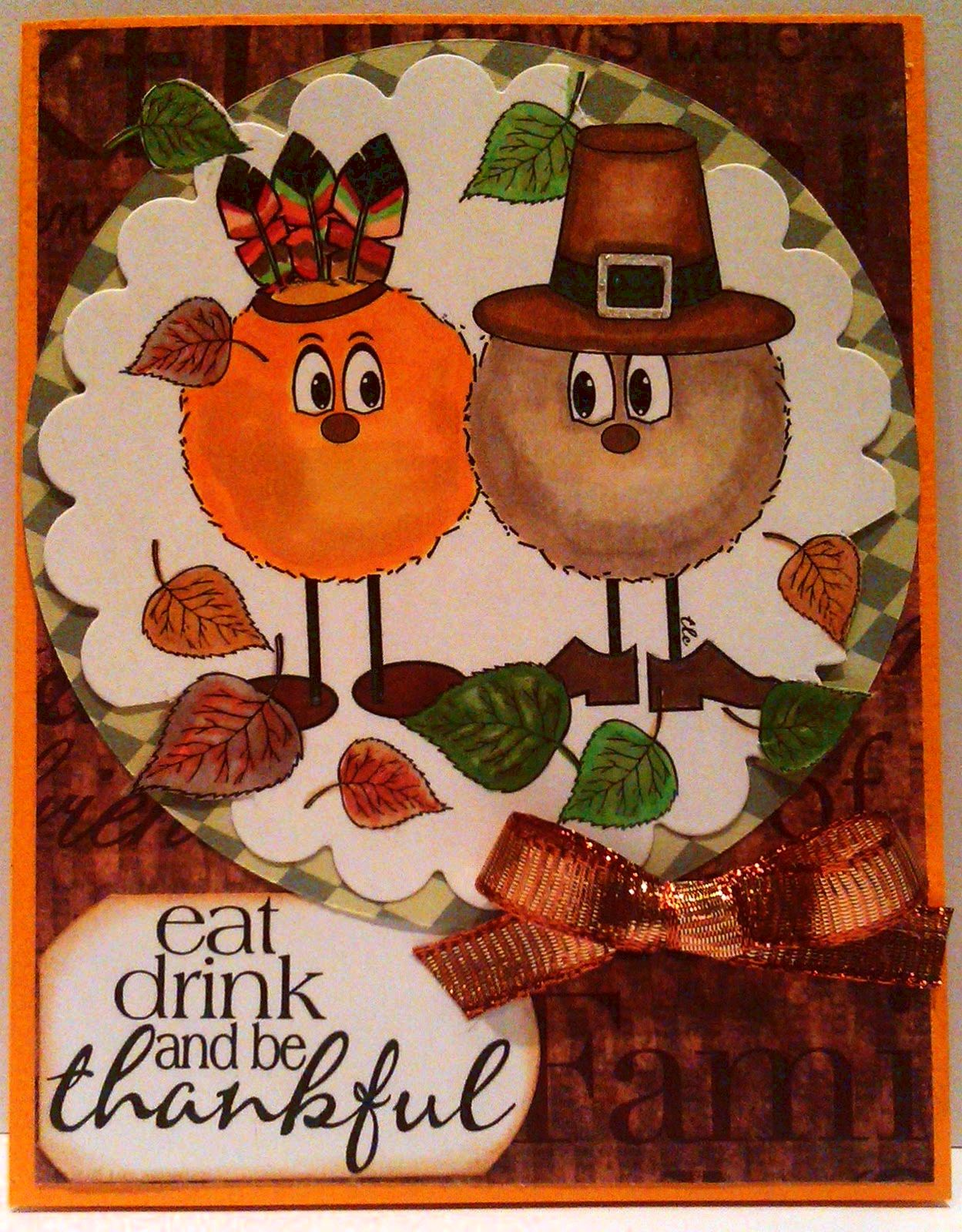 The pilgrims' first thanksgiving — hubbard's cupboard little Pilgrim clip art and