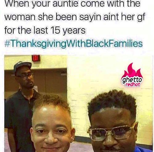 Easily the funniest #thanksgivingwithblackfamilies memes and tweets really no such