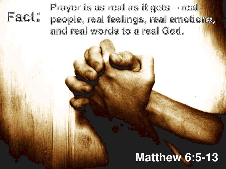 Exactly what does the bible say about prayer? God,      Light from Light